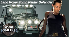 Land Rover Tomb Raider  Defender