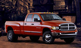 All new 2003 dodge ram 2500 and 3500 debut astoughest and most