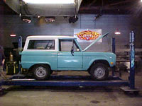 Monster Garage Bronco