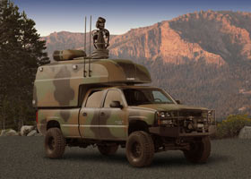 Rockcrawler Com Gm Reveals Fuel Efficient Military Truck