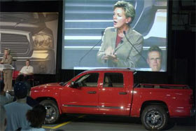 2005 Dodge Dakota Launch