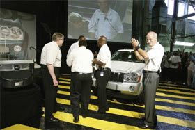 2005 Jeep Grand Cherokee Launch