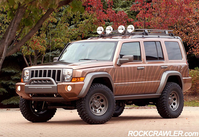 of numerous new Jeep lift products slated for introduction in 2006.
