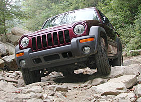 Jeep Liberty  Glamour Shot