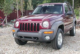 ROCKCRAWLER.com - 2002 Jeep Liberty Review