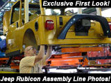 Jeep Rubicon Assembly Line Photos!