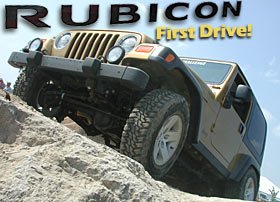 Jeep Rubicon First Drive!
