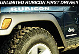 2005 Jeep Wrangler Unlimited Rubicon First Drive