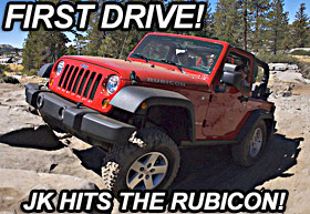 2007 Jeep Wrangler JK Hits the Rubicon Trail