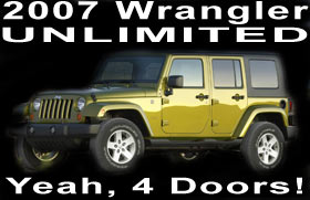 2007 jeep wrangler unlimited information. Black Bedroom Furniture Sets. Home Design Ideas