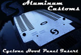 Aluminum Customs Louvred Hood Panel Insert