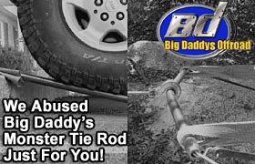 Big Daddy's Offroad Monster Tie Rod