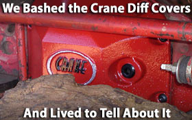 Crane High Clearance Diff Covers