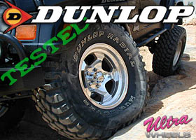 Dunlop Mud Rovers and Ultra Wheels Type 50 Rims