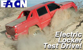 Eaton Electric Locker Test Drive!