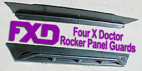 Four X Doctor Rocker Panel Guards