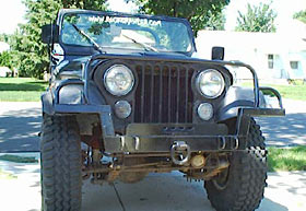 Kennesaw Mountain Accessories CJ Bumper