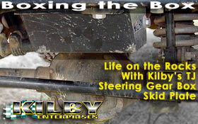 Kilby TJ Steering Gear Box Skid Plate