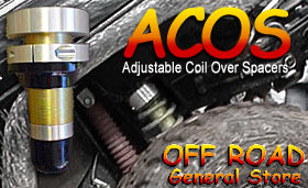 Off Road General Store Adjustable Coil Over Spacers (ACOS)