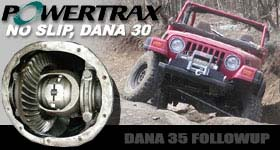 Powertrax No Slip for Dana 30