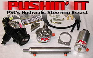 PSC Hydraulic Steering Assist System