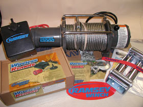 Ramsey Patriot Profile 12,000 Recovery Winch
