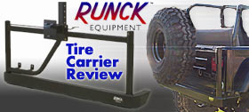 Runck Equipment Tire Carrier