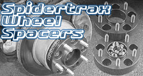 Spidertrax Wheel Spacers