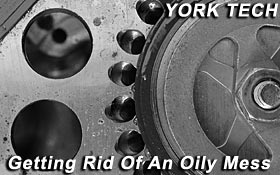 York Tech - Getting Rid Of An Oily Mess