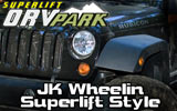 "Superlift JK 4"" Suspension Lift"