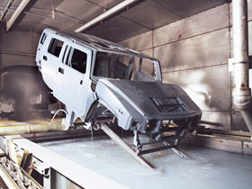 Hummer H2 Assembly Plant