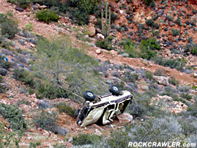 Bronco Recovery - Martinez Canyon