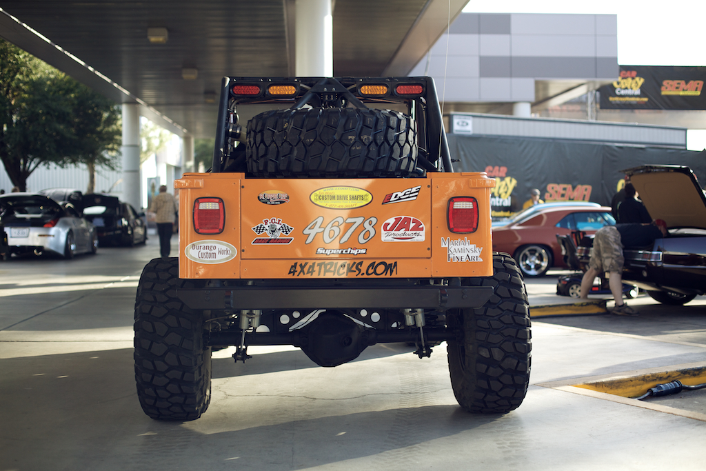 Tj Rock Crawler : Sema built up jeep wrangler tj rock crawler