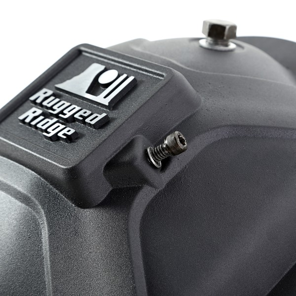 Rugged Ridge Boulder Aluminum Differential Cover - Close-up (High Res)