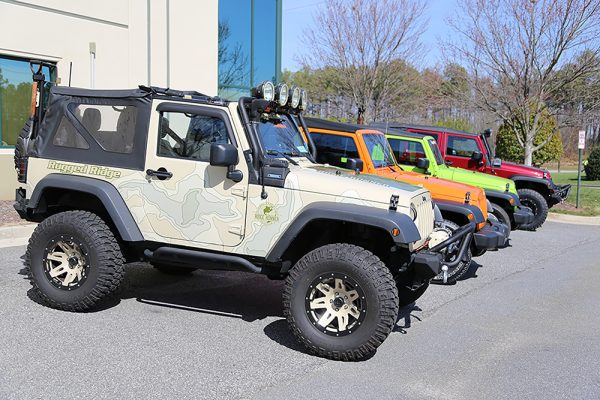 Jeep enthusiasts can pre-register their Jeeps online for the Show & Shine at the Omix-ADA Jeep Heritage Expo