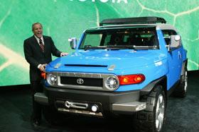 ROCKCRAWLER.com - Toyota Shows FJ Cruiser Concept at NAIAS