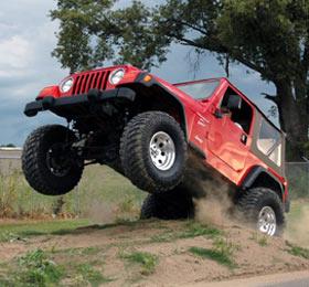 ROCKCRAWLER com Rough Country Introduces Jeep TJ X