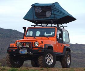 Oasis II Rooftop Tent & ROCKCRAWLER.com - Oasis II Rooftop Tent
