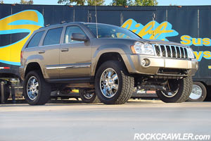 Rockcrawler Com Superlift First To Market With Xk Wk