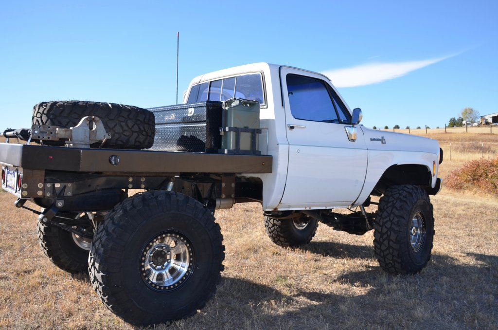 For Sale Colorado 1976 Chevy K10 1 Tons Flatbed 41 5 Pitbull
