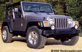 Rockcrawler Com 2003 Jeep Wrangler Rubicon Revealed