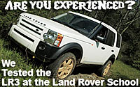 Land Rover LR3 at the Land Rover Experience