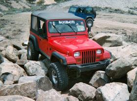 Rockcrawler jeep yj manual to auto tranny swap tony lopez moab publicscrutiny Choice Image