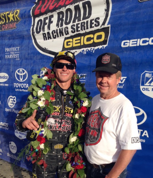 Deegan Wins ProLite - Odyssey Battery