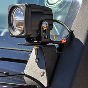 VisionX A-Pillar Mount - Optimus LED Light