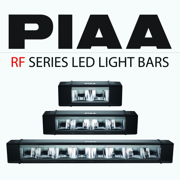 Piaa announces immediate availability of new rf series led light piaa announces immediate availability of new rf series led light bars rockcrawlerrockcrawler mozeypictures Images