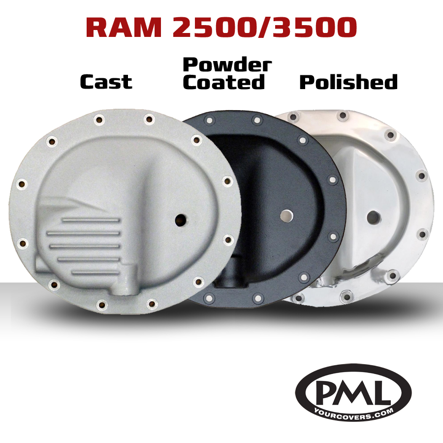 PML Introduces New 12-Bolt Front Differential Cover for Dodge Ram 2500 and 3500 to accommodate ...