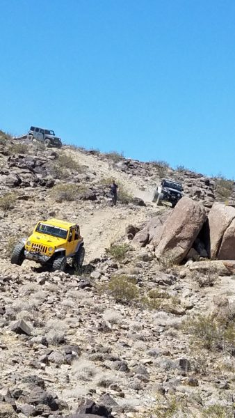 One of the many great trails we ran on GEOLANDAR X-MT tires.